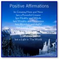 Positive Affirmations for a Healthy Life