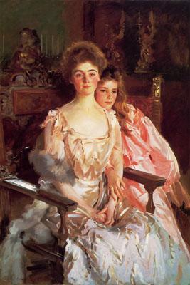 J.S. Sargent Mrs. Fiskie Warren and Daughter, 1903