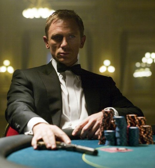 Daniel Craig in his first outing as James Bond