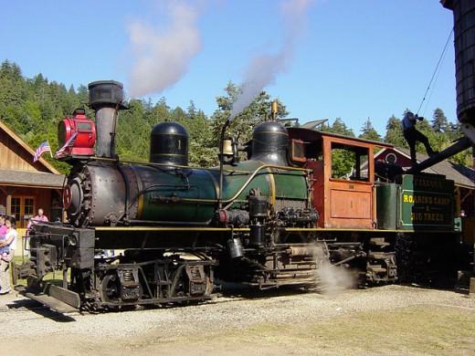 The Dixiana Train