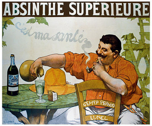 Absinthe Superieur by Victor Leydet.