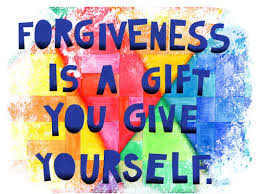 Healing is the gift forgiveness gives us.  When we forgive others we heal, grow and move on.  We're free to love and receive it.