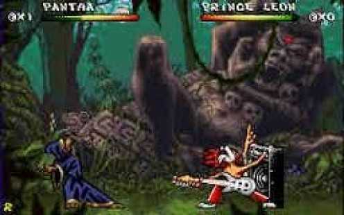 Brutal for the Sega CD is a fighting game that allows you to play as certain animals.