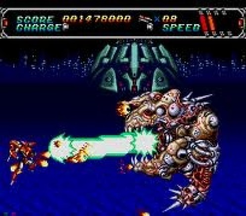 Android Assault is a side scrolling alien shooter made for the Sega CD.