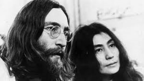 John and Yoko, the war protest times