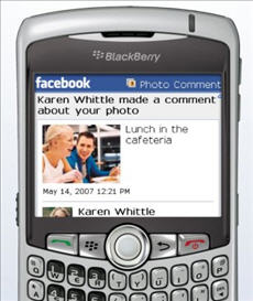 Facebook on your BlackBerry is awesome (at least I think so)