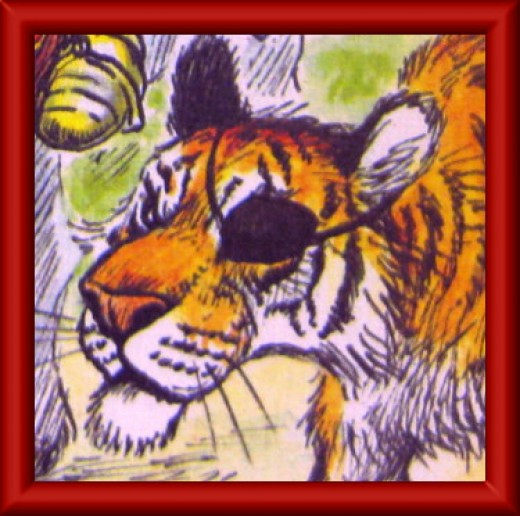The terrible one-eyed tiger