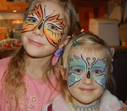 A face painting business is rewarding and fun