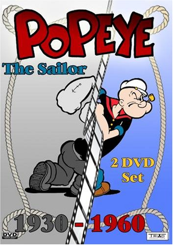 Popeye the Sailor Man - now on DVD