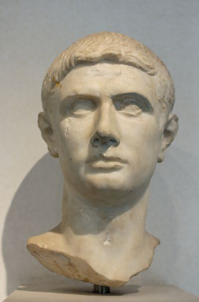 Marble Bust of Brutus, 30–15 B.C.