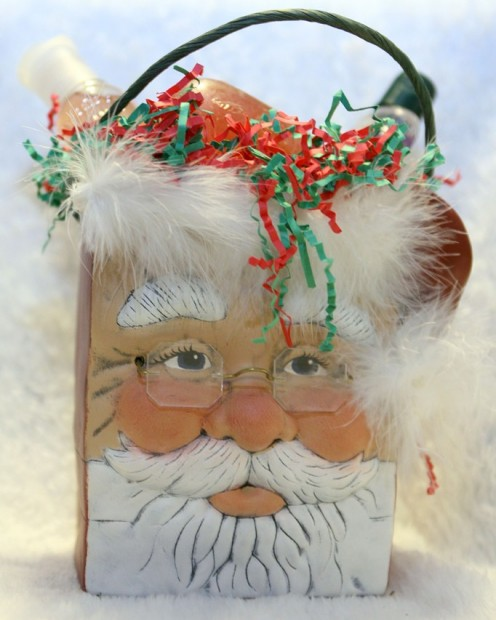 Santa Bag - One of T-L Gifts most popular Christmas creations.  Perfect for filling and giving.
