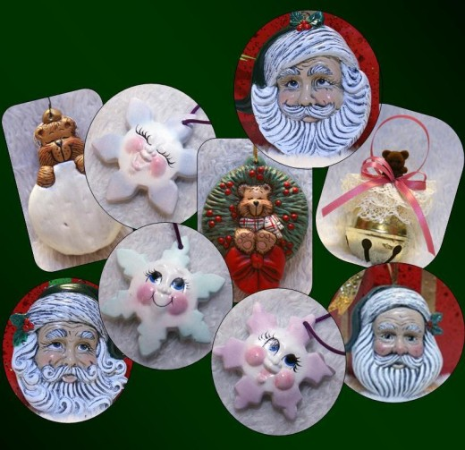 This is just a sampling of the ornaments available from T-L Crafts