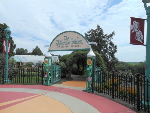 Entrance to the Children's Garden.