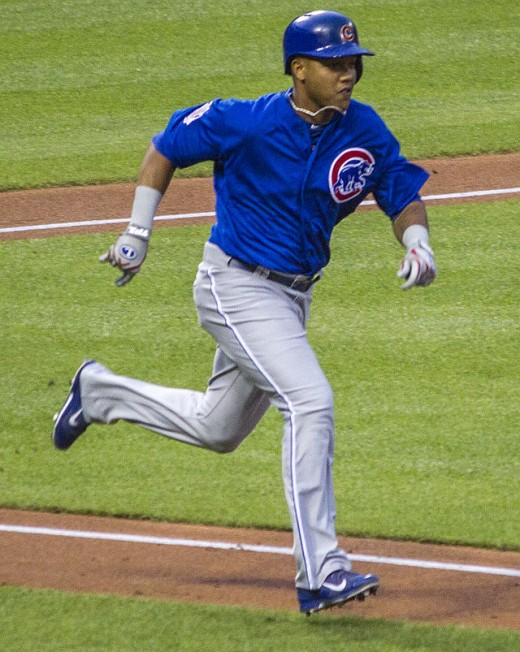 Starlin Castro, Shortstop for the Chicago Cubs Baseball Team