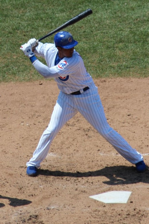 Starlin Castro, batting