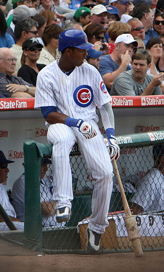Starlin Castro, waiting to bat