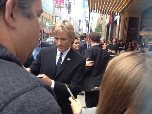 Viggo Mortensen at Toronto International Film Festival, September 2014.