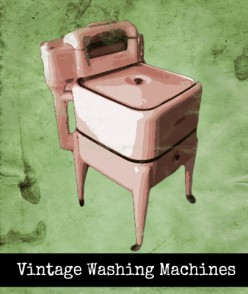 Old Antique Vintage Washing Machines