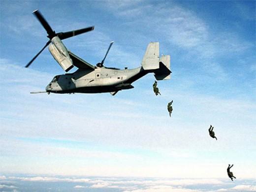 American V-22 osprey