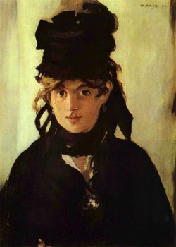 painting by Edouard Manet, 1872