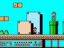Super Mario Brothers 3 was a beautiful looking game, especially in comparison to the clunky looking first game from 1985. The NES had a limited color palette, and they used it to its fullest potential here.
