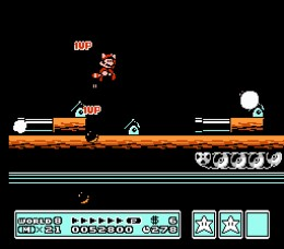 The final levels of Super Mario 3 always seemed really harcore. I mean - cannons shooting at Mario left and right? It seems so uncharacteristic for a fun, lighthearted Mario game. That's really my only beef with the design of Super Mario Brothers 3.