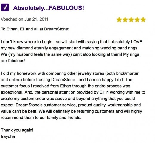 See more Dreamstone customer reviews from iVouch