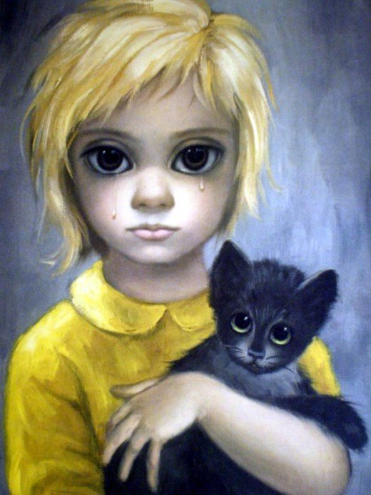 """The Stray"" by Margaret Keane, 1962"