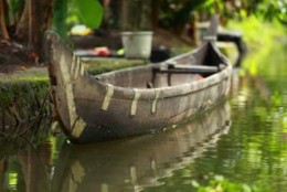 Paddled Canoe