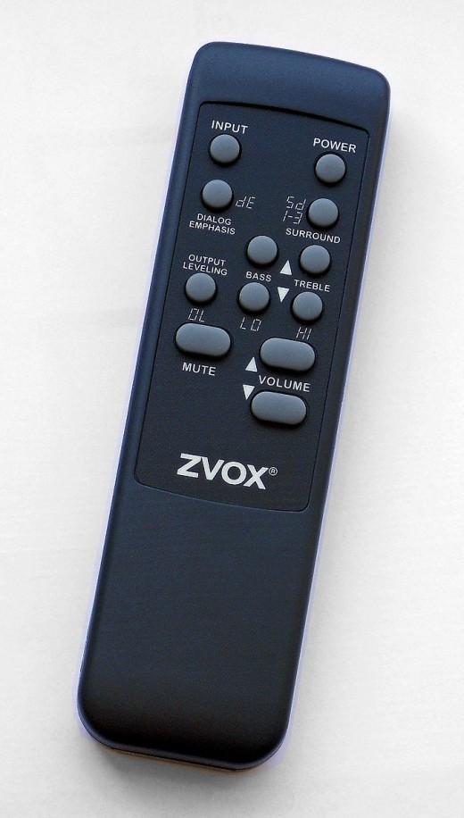 ZVOX 555 remote