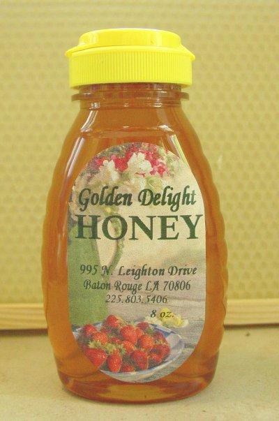 honey in abottle