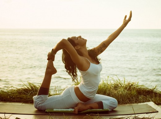 There are many different styles of yoga