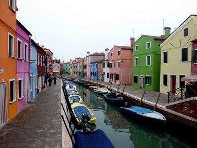 Burano the colorful island of venice