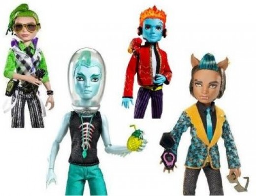 Don't Forget The Monster High Boys
