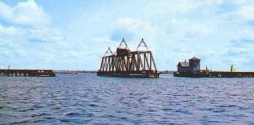 """Bridge Over Lake Champlain"""
