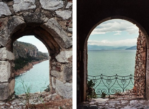 Nauplion is full of these wonderful vistas framed by medieval windows and archways.