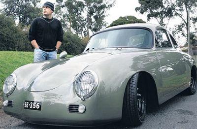 Restored Vintage Porsche