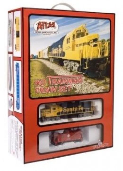 Inexpensive Atlas HO Scale train set
