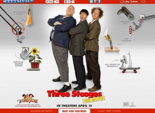 The Three Stooges Website