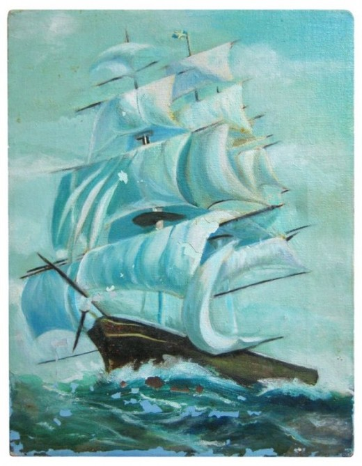 Vintage sailing ship clip art courtesy of Just Something I Made. See link below to download it.