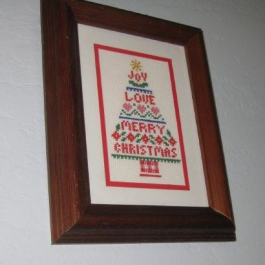 Counted Cross Stitch Christmas Tree