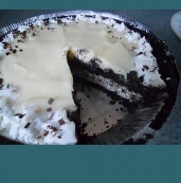 Chocolate White Chocolate Pie