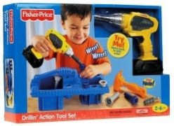 Fisher Price Drillin Action Tool Set Review
