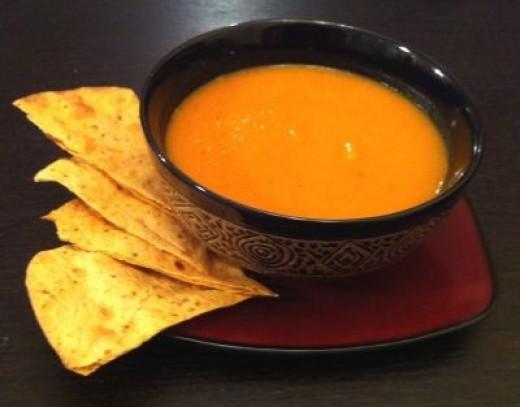 Carrot Ginger Sweet Potato Soup Recipe