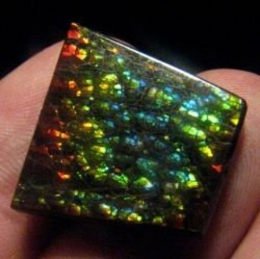 Stained Glass Ammolite Jewellery