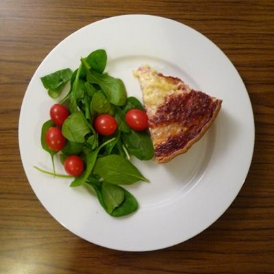 Recipe for Quiche Lorraine