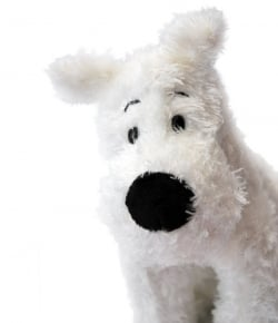 Official Moulinsart Snowy Plush Toy