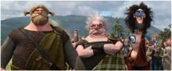 Brave Movie Scottish Lords