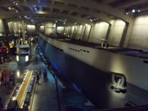 Museum of Science Chicago WWII Submarine