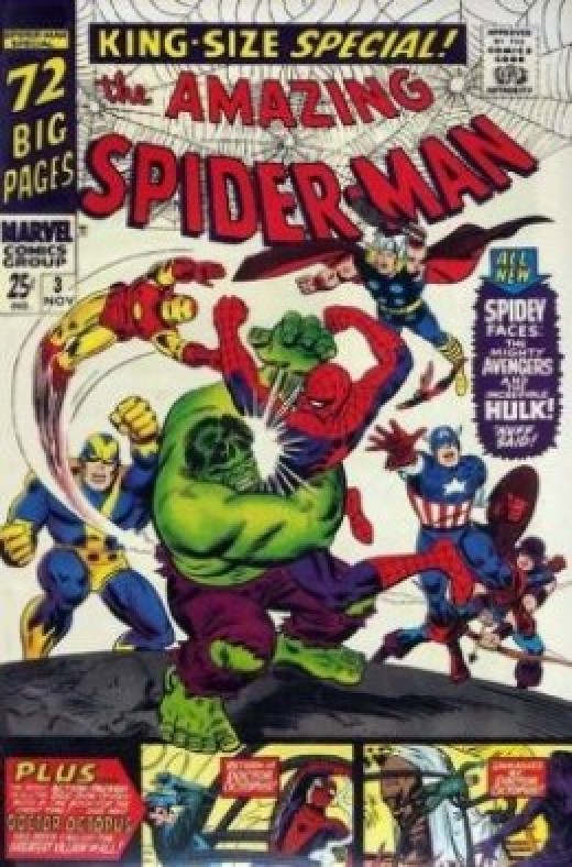Amazing Spider-Man Annual 3 Avengers Hulk